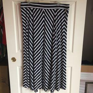 Torrid Chevron Maxi Skirt